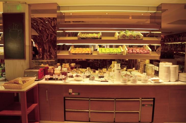 new hotel atina kahvaltı