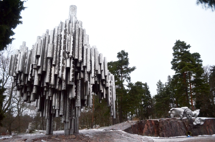 Sibelius anıtı