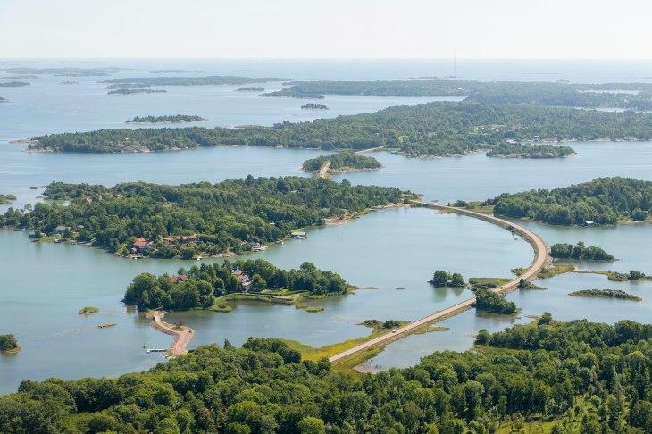 finlandiya takımadaları manzara
