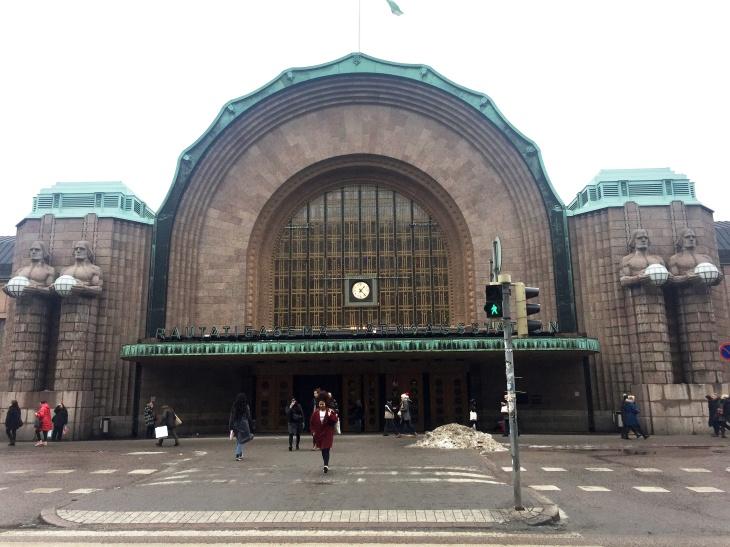 Helsinki Merkez Tren İstasyonu