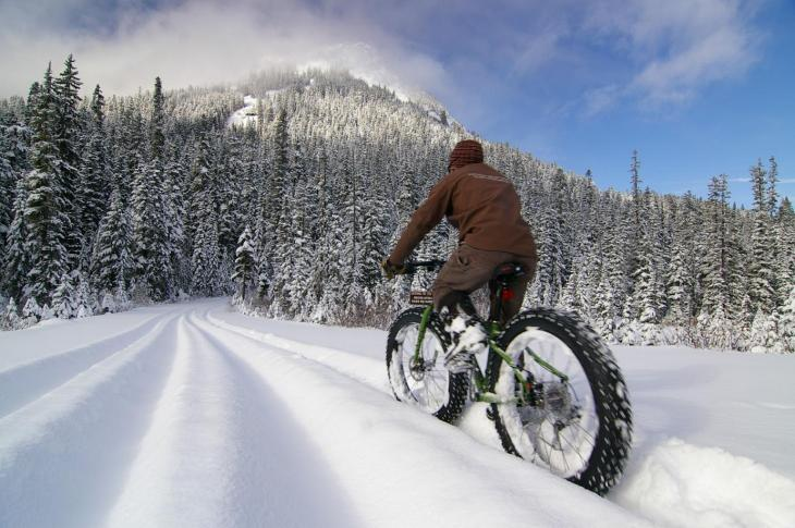 Finlandiya kar bisikleti