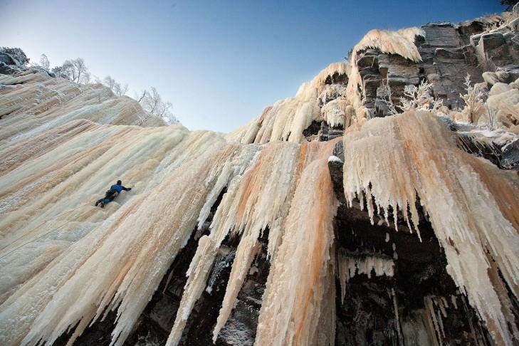 buzul tırmanışı