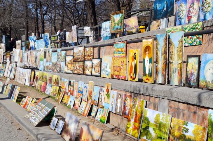 Tiflis Kuru Köprü Pazarı